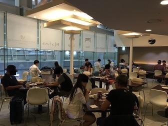 プライオリティパスで入れる韓国仁川空港のMATINAラウンジの内部