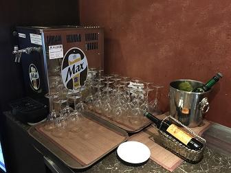 プライオリティパスで入れる韓国仁川空港のMATINAラウンジブッフェはビールとワインも飲み放題