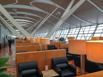 上海浦東国際空港第2ターミナルの69番VIPラウンジ