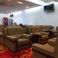 プライオリティパスで入場可能な中国・武漢の天河国際空港の国際線ターミナルのファーストクラスラウンジ