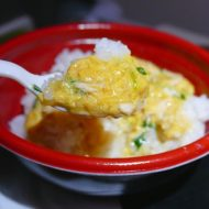 春秋航空日本の国際線限定販売の親子丼