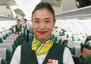 春秋航空の日本人客室乗務員