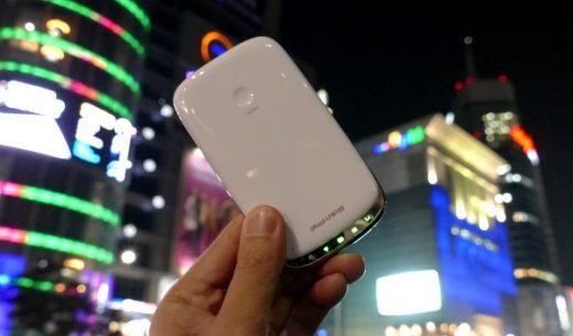 グローバルモバイル社のWi-Fiルーター