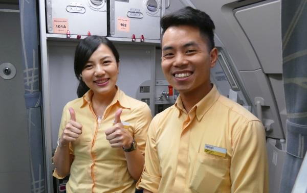 タイガーエア台湾の客室乗務員