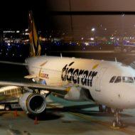 タイガーエア台湾の機体