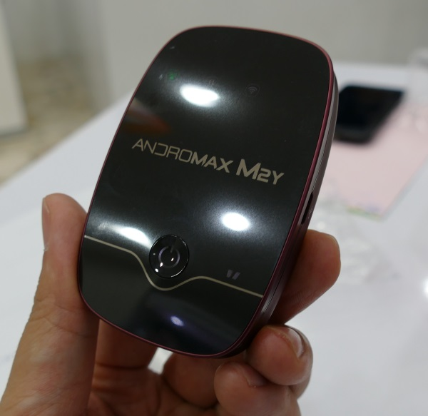 スマートフレンの「ANDROMAX M2Y」(ハイアール製)