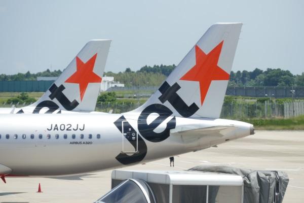 LCC「ジェットスター・ジャパン」の機体のロゴマーク