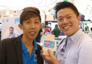 マレーシアで6月30日からTD-LTEのサービスを始めたYESのプリペイドSIMと店員さんといがモバ