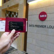 プライオリティパスで利用できるシンガポールのチャンギ国際空港第3ターミナルにあるSATSプレミアムラウンジ