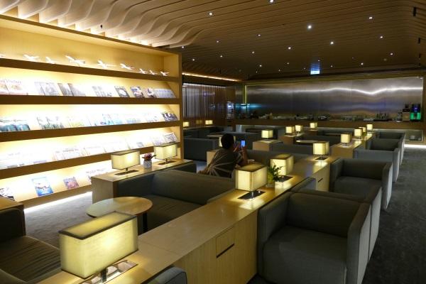 プライオリティパスで入れる桃園空港第一ターミナルのトランスアジア航空VIPラウンジの中