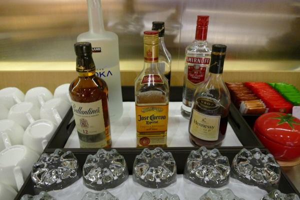 プライオリティパスで入れる桃園空港第一のトランスアジア航空VIPラウンジはアルコールも無料