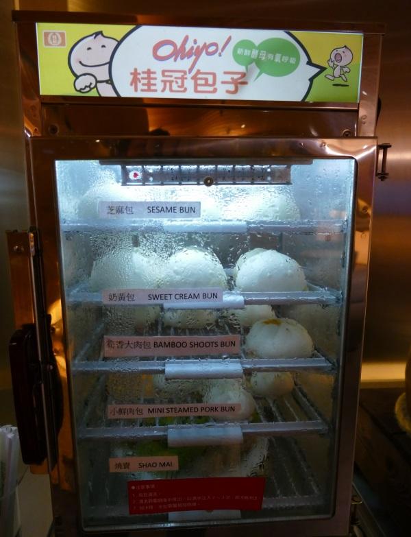 トランスアジア航空VIPラウンジの饅頭蒸し器
