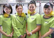 成田~関空路線に新規就航する春秋航空日本・スプリングジャパン(Spring Japan)の客室乗務員