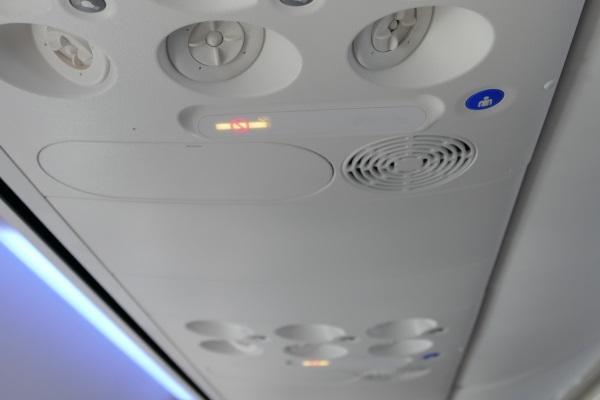 安定飛行でシートベルトサインが消灯