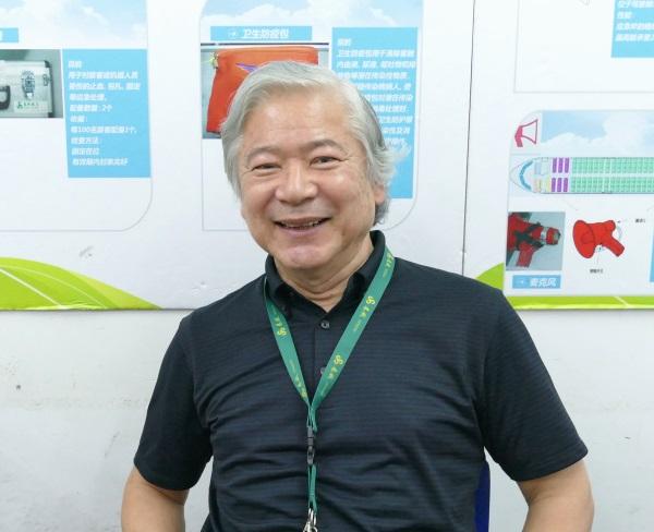 上海春秋飛行訓練会社 副社長兼品質管理部長の内田さん
