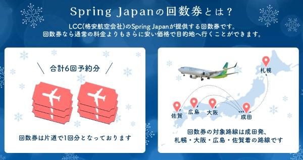 春秋航空日本・Spring Japanの回数券について