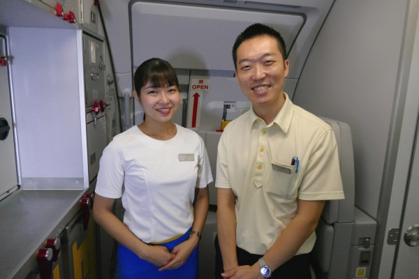 LCC「バニラエア」の以遠権フライトJW102便ホーチミン~台北線に乗務していた客室乗務員