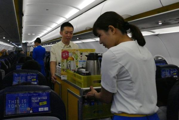 バニラエアの機内食の販売がスタート