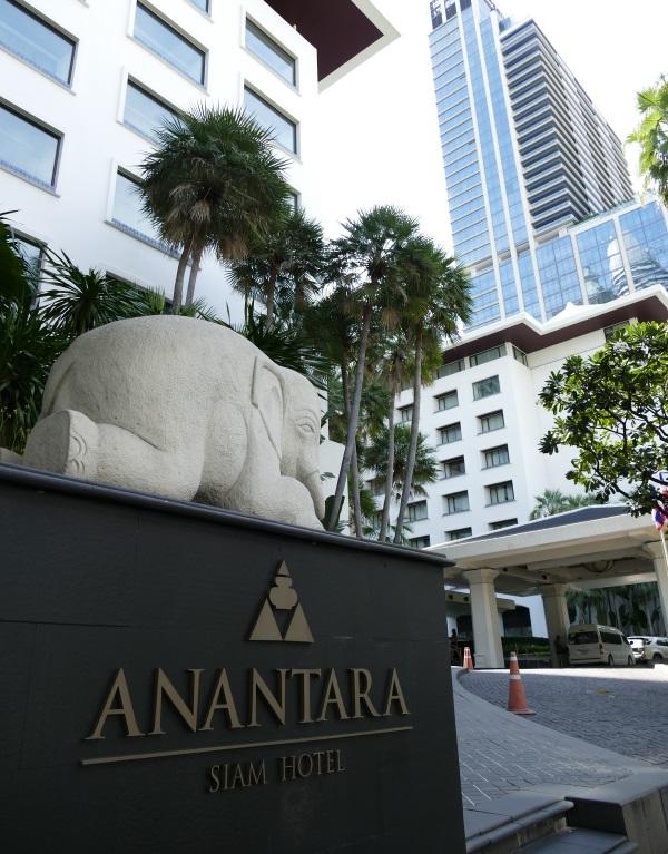 アナンタラ・サイアム・バンコク・ホテルの入口