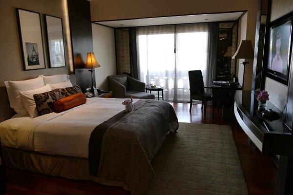 アナンタラ・バンコク・リバーサイド・リゾート&スパの「デラックス・プレミア・リバーフロント・ルーム」