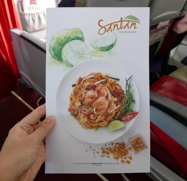 タイ・エアアジアXの機内食が新メニューに