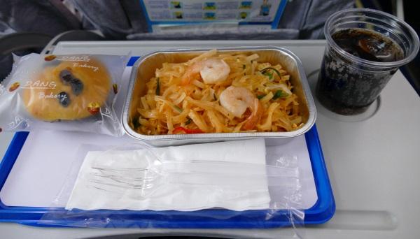 カンエアーの機内食(無料)