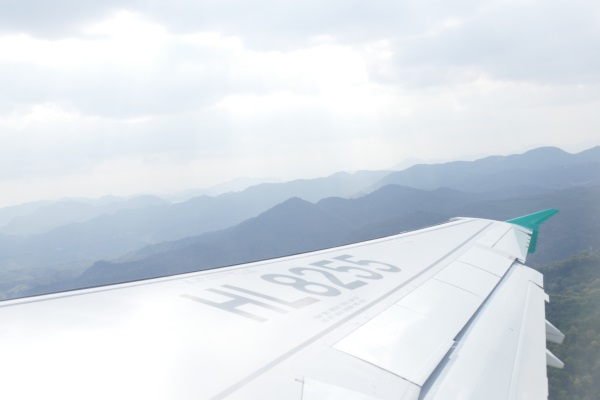 午前11時34分 エアソウルRS731便が離陸
