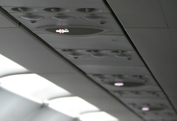 安定飛行になりシートベルトサインが消灯