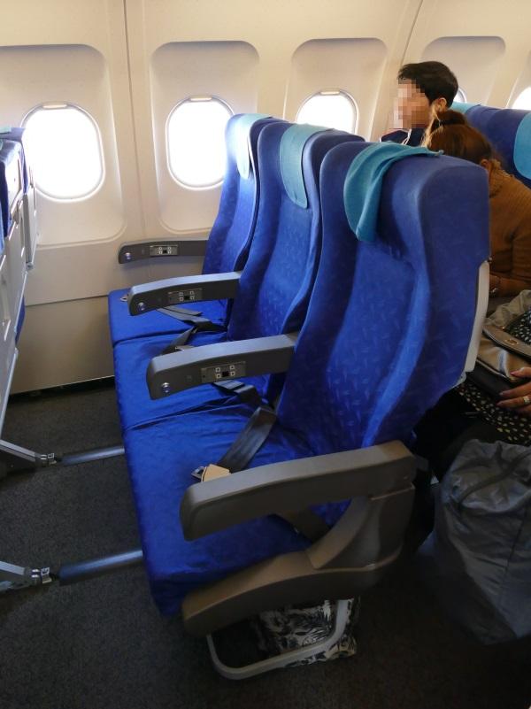 エアプサンの座席