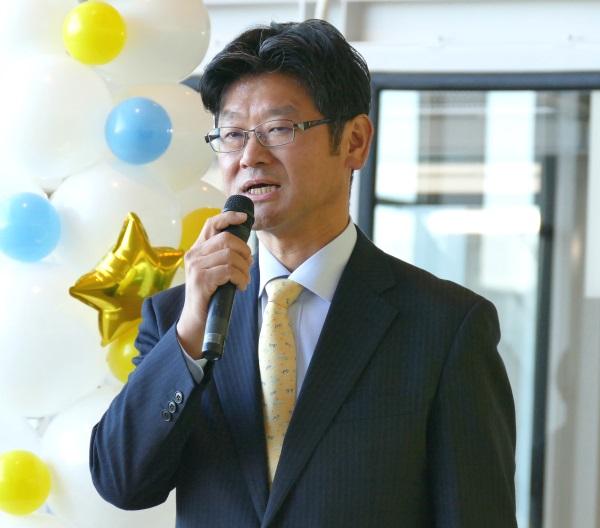 バニラエアの代表取締役社長 五島勝也氏