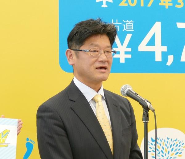 バニラエア代表取締役社長の五島 勝也氏