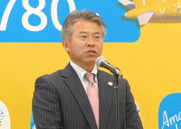関西エアポート株式会社執行役員の田中 淳隆氏