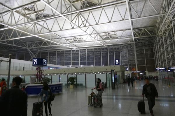 天津浜海国際空港の国際線ターミナル(第1ターミナル)