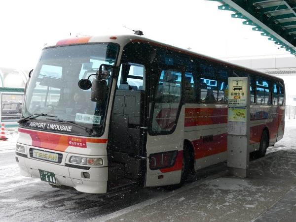 函館駅方面の函館空港連絡バス