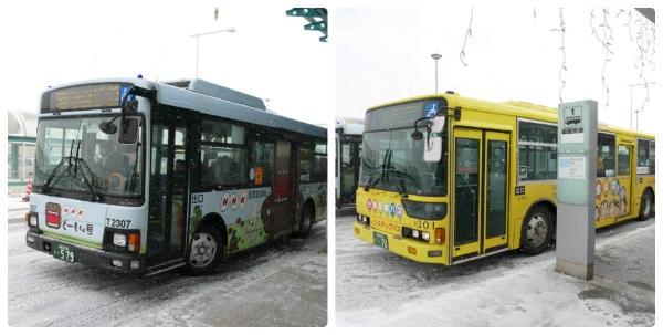 函館空港から路線バスも運行