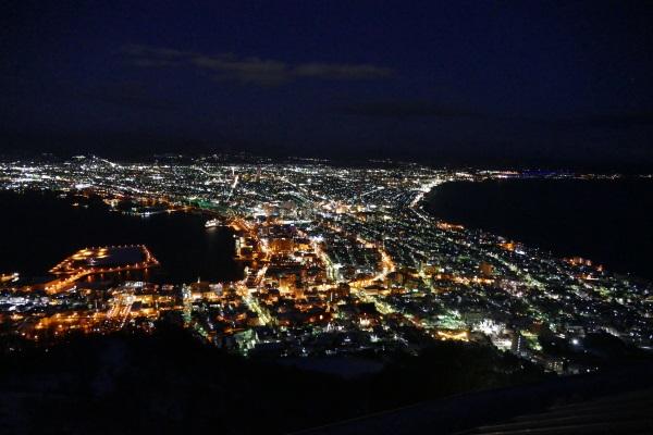 函館山山頂展望台からの夜景
