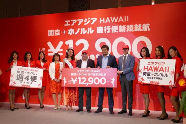 エアアジアXのハワイ線は新たな需要を生み出すか