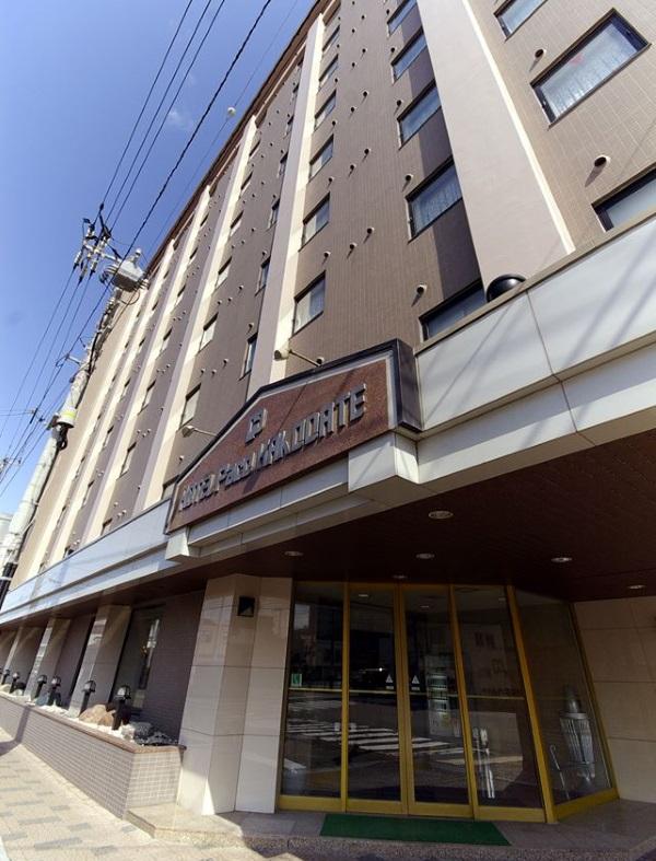 ホテルパコ函館の外観(Facebookページより)