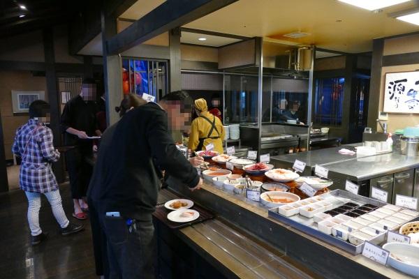 ラビスタ函館の朝食会場「北の番屋」