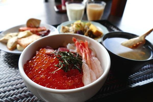 「ラビスタ函館ベイ」の朝食ブッフェ