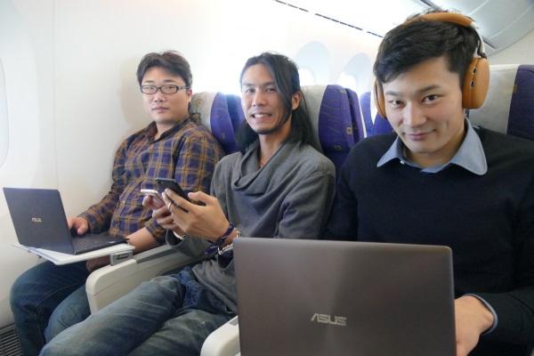 写真左:ガルマックス 猶木さん 写真中央:でじねこ.com ユキガミさん 写真右:トバログ 鳥羽さん
