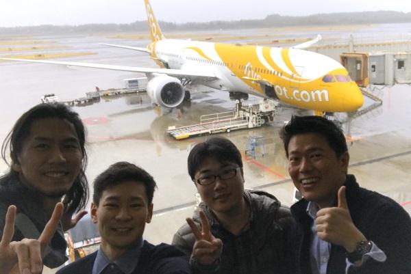 「LCCスクートで行く!台湾ガジェット旅」の参加ブロガー4人