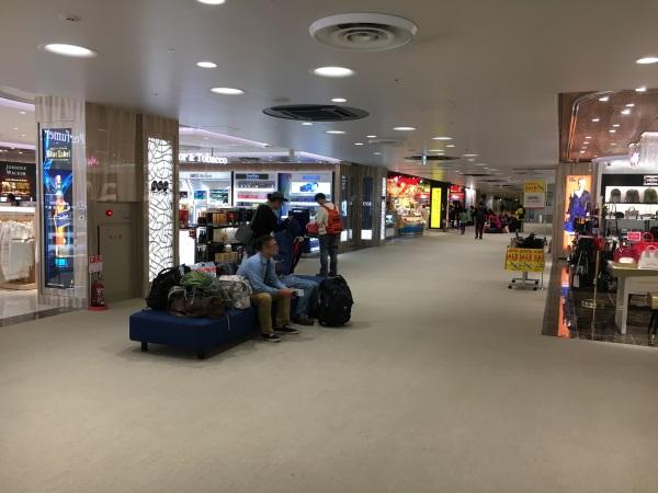 成田第3ターミナルの国際線エリア