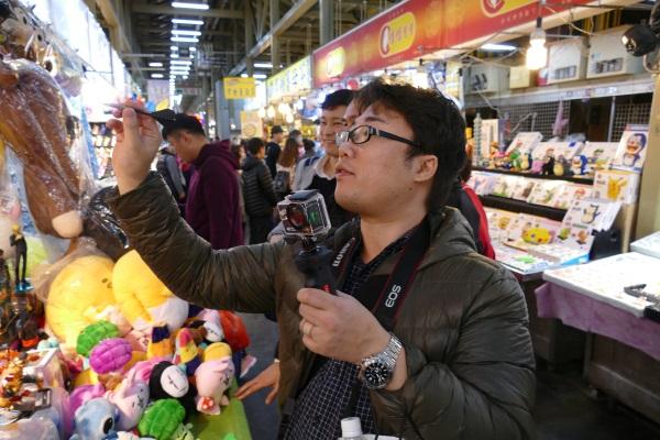 台北でダーツの才能を発揮したガルマックス猶木さん