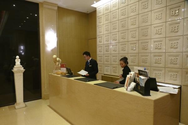 サンワンレジデンシズ台北のスタッフは皆日本語が堪能