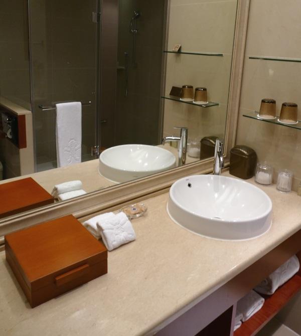 サンワンレジデンシズ台北のバスルーム