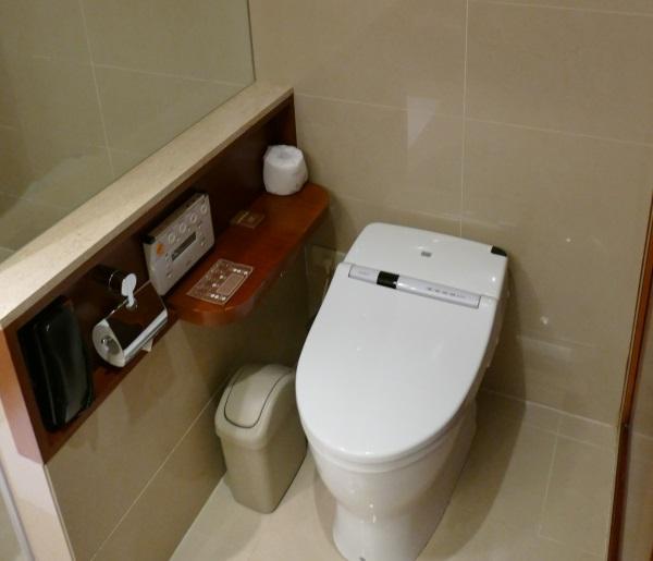 日本人に嬉しいシャワートイレを完備