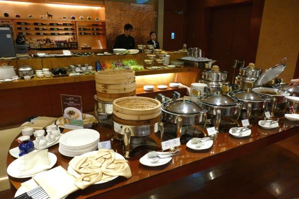 サンワンレジデンシズ台北の朝食ブッフェ