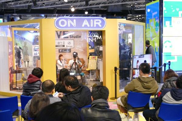 「三創生活(SYNTREND)」内でラジオの公開収録も実施