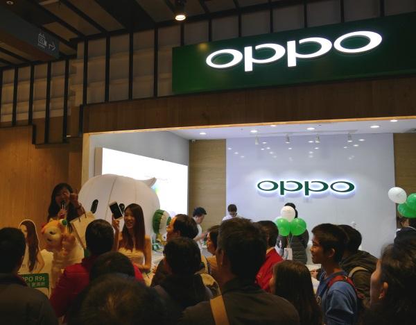 中国の人気スマホブランド「OPPO」も台湾に進出済